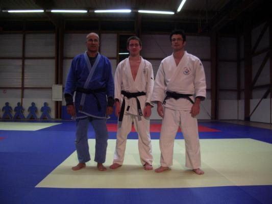 Cyril Averlant remise de ceinture noire le 16/11/2007