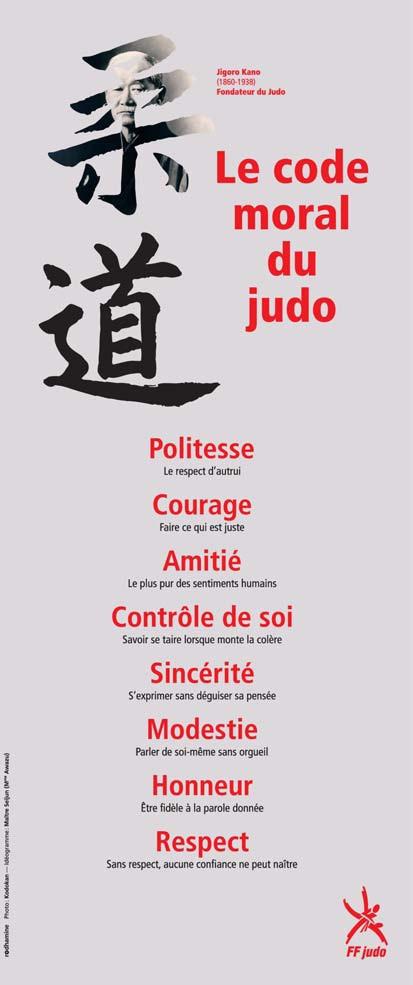 Code moral judo