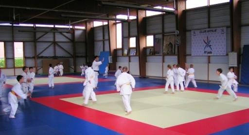 Dojo / Entraînement des Judokas